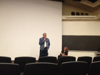 Charlie Soap and Kristina Kiehl at SMU